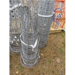 """LARGE QTY OF TOMATO CAGES 12"""" DIAM"""