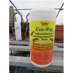 11 KING ECO WAY INDOOR/OUTDOOR CRAWLING INSECT KILLER DUST 300G (11 TIMES BID PRICE)