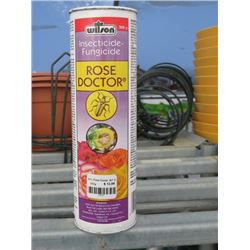 7 300G WILSONS ROSE DOCTOR INSECTICIDE/FUNGUSCIDE (7 TIMES BID PRICE)