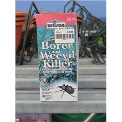 9 250ML WILSONS BORER AND WEEVIL KILLER LIQUID INSECTICIDE (9 TIMES BID PRICE)
