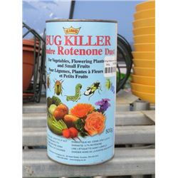2 500G KING BUG KILLER ROTENONE DUST FOR VEGETABLE AND FLOWERS (2 TIMES BID PRICE)