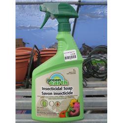 12 GREEN EARTH INSECTICIDE SOAP 1L (12 TIMES BID PRICE)