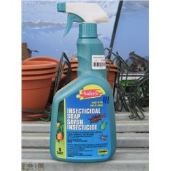 11 1L SAFERS INSECTICIDE SOAP (11 TIMES BID PRICE)
