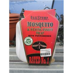 12 OAKSTAMP MOSQUITO ABD FLYING INSECT TRAPS WITH PHEROMONES (12 TIMES BID PRICE)