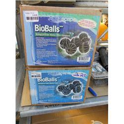 2 AQUASCAPE BIOBALLS BIOLOGICAL FILTER (2 TIMES BID PRICE)