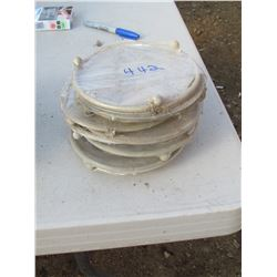 "9 PLANT PLATFORMS 6"" (9 TIMES BID PRICE)"