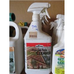 4 WILSON DECK/PATIO MOSS CLEANER 1 L (4 TIMES BID PRICE)