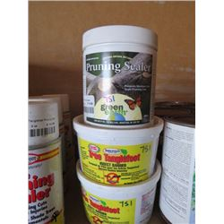 LOT OF 4 - 2 TANGLE FOOT INSECT BARRIER 15 OZ. 2 GREEN EARTH PRUNING SEALER 400 G
