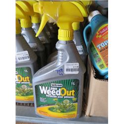 6 WILSON WEED OUT HERBICIDE 1 L (6 TIMES BID PRICE)