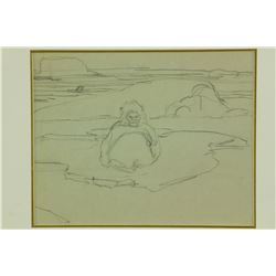 FRANZ JOHNSTON Canadian 1888-1949 Pencil on Paper