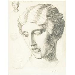 MARIO SIRONI Italian 1885-1961 Pencil on Paper