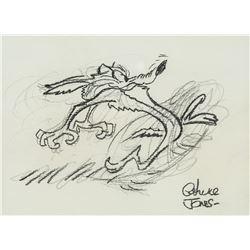 CHUCK JONES American 1912-2002 Pencil on Paper
