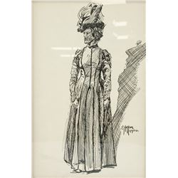 EDWARD HOPPER American 1882-1967  Ink on Paper