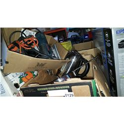 BOSCH JIGSAW, ELECTRIC DRILL AND KETTLE