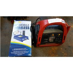 MOTOMASTER BATTERY BOOSTER PACK AND CELL PHONE SIGNAL BOOSTER KIT