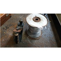 STANLEY PLANER AND ALUMINUM WIRE