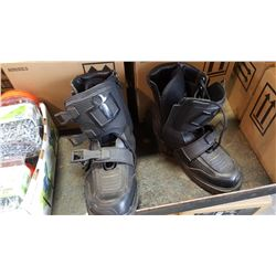 SIZE 11 IICON FIELD ARMOR MOTORCYCLE BOOTS