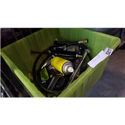 TOTE OF PNEUMATIC TOOLS