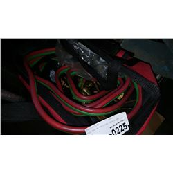 TOOL BAG W/ WELDING HEADS AND HOSES