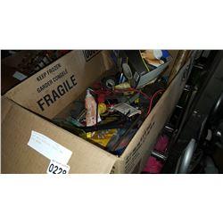 BOX SHOP SUPPLIES, TOOLS, AND DUST MASKS