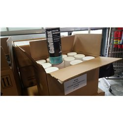 BOX OF 12 COLD ZINC GALVANIZED SPRAY AEROSOL CANS