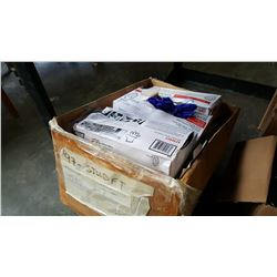 12 BOXES OF DISPOSABLE NITRILE GLOVES