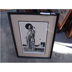 CHIEF WOLF ROBE LIMITED EDITION PRINT