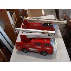 2 TONKA FIRE TRUCK TOYS