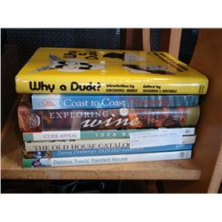 LOT OF HARD COVER COFFEE TABLE BOOKS
