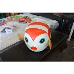 LEATHER DECORATIVE FISH