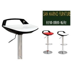 PAIR OF BRAND NEW MODERN WHITE AND BLACK GAS LIFT BARSTOOLS RETAIL $149 EACH