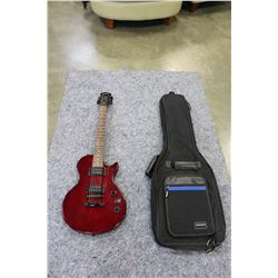 EPOPHONE SPECIAL II ELECTRIC GUITAR IN SOFT CASE