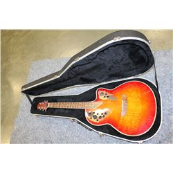 WESLEY ACOUSTIC ELECTRIC GUITAR IN HARD SHELL CASE