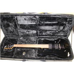 SCHECTER DIAMOND SERIES ELECTRIC GUITAR IN HARD SHELL CASE