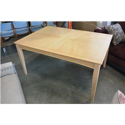 CONTEMPORARY WOOD FINSH DINING TABLE