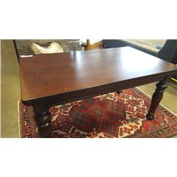 NEW ASHLEY SIGNATURE DESIGN DARK FINISH TALL COFFEE TABLE RETAIL $399