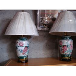 2 EASTERN TABLE LAMPS