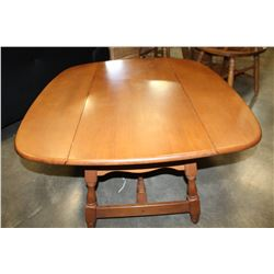 VILAS DROP LEAF COFFEE TABLE AND END TABLE