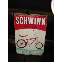 WOOD SCHWINN BICYCLE ADVERT