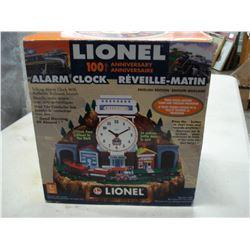 100TH ANNIVERSARY LIONEL TRAIN ALARM CLOCK NEW IN BOX