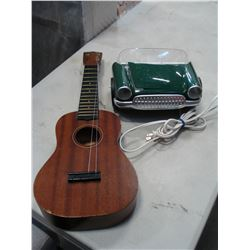 PURE HAWAIIAN UKULELE AND FRONT END CHEVY LAMP