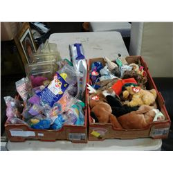 2 BOXES OF COLLECTIBLE TY BEANIE BABIES
