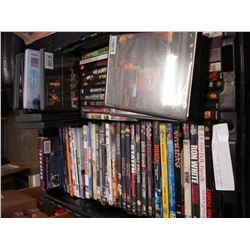 BLACK TOTE OF DVDS