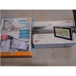 MAGELLAN MAESTRO 4210 GPS AND SAFETY FIRST BABY MONITOR