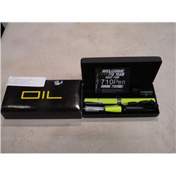 NEW RECHARGEABLE ORANGE 710 OIL / VAPE PEN WITH ACCESSORIES RETAIL $89