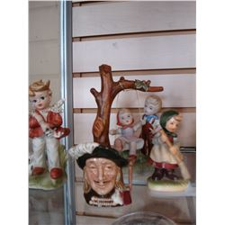 HUMMELL STYLE FIGURES AND MINIATURE TOBY