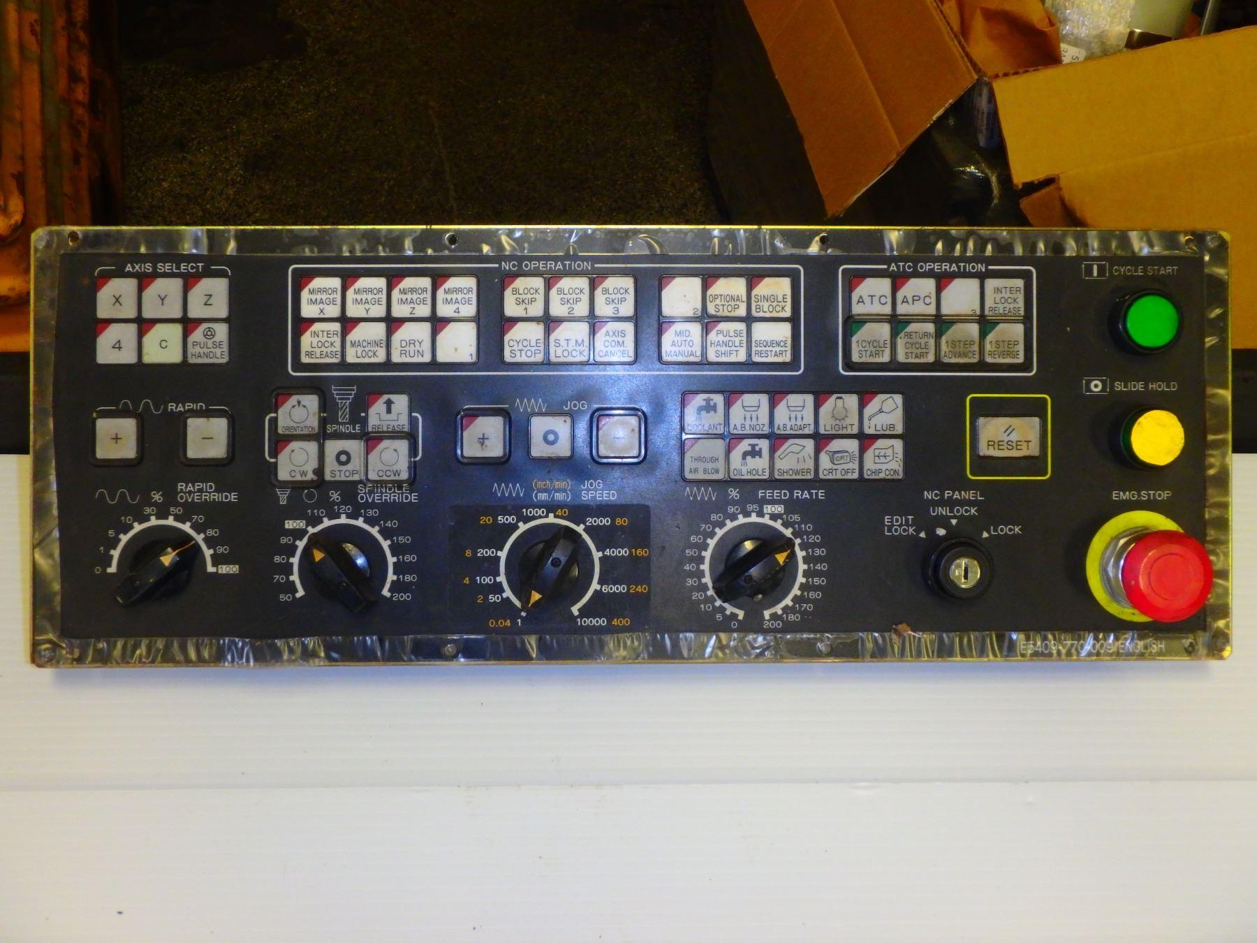 OKUMA E5409-770-009 OPERATOR PANEL