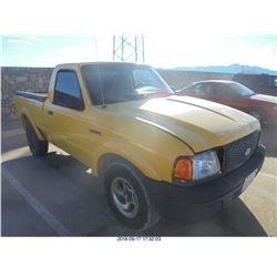 2002 - FORD RANGER // REBUILT SALVAGE