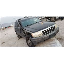 2001 - JEEP GRAND CHEROKEE LAREDO // SALVAGE TITLE