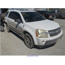 2005 - CHEVROLET EQUINOX // EXPORT